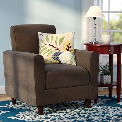 Farnsworth Solid Arm Chair Upholstery: Peat