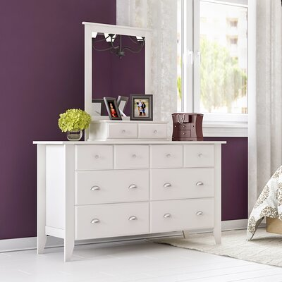 Revere 6 Drawer Dresser with Mirror