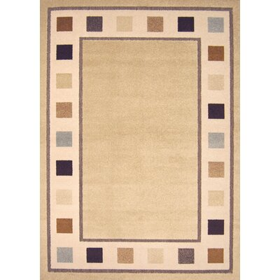 Dwyer Taupe Area Rug Rug Size: Runner 22 x 76
