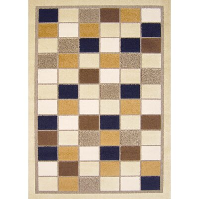 Dwyer Taupe Area Rug Rug Size: 52 x 76