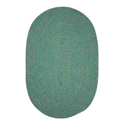 Ridley Green Outdoor Area Rug Rug Size: Round 6