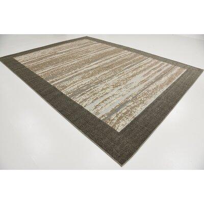 Loretta Brown Indoor/Outdoor Area Rug Rug Size: 9 x 12