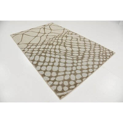 Mamaroneck Cream Indoor/Outdoor Area Rug Rug Size: 5 x 8