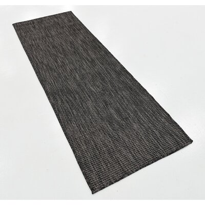 Black Outdoor Area Rug