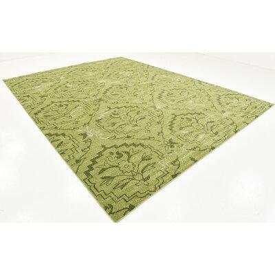 Goshen Light Green Area Rug Rug Size: 10 x 13
