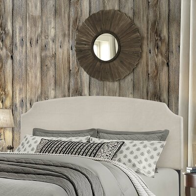 Greensburg Upholstered Panel Headboard Size: King, Upholstery: Glacier Gray