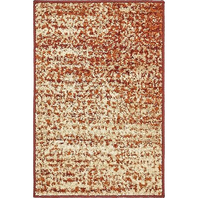 Hedwig Terracotta Area Rug Rug Size: 8 x 8