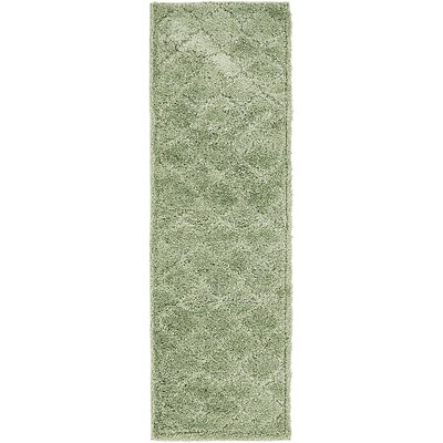 Madelyn Green Area Rug