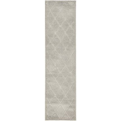 Madelyn Gray Area Rug Rug Size: Runner 27 x 10