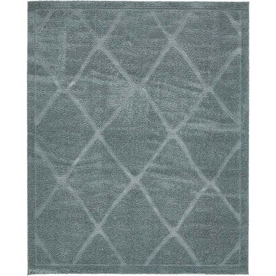 Catherine Light Blue Area Rug Rug Size: 8 x 10