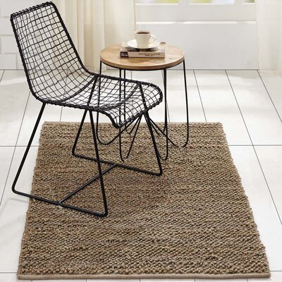 Baxter Hand-Woven Silver Area Rug Rug Size: 3 x 5