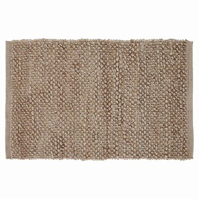 Baxter Hand-Woven Silver Area Rug Rug Size: 18 x 26