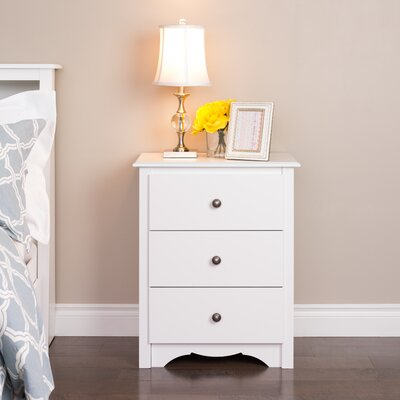 Hayman Tall 3 Drawer Bachelors Chest