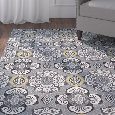 Royalwood Fog Area Rug Rug Size: Rectangle 5 x 8
