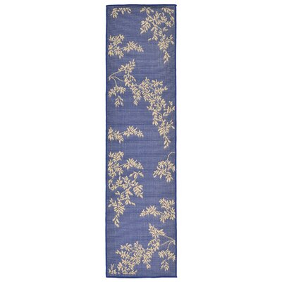 Aldreda Blue Indoor/Outdoor Area Rug Rug Size: Runner 111 x 76