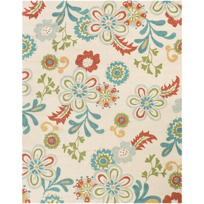 Leopold Putty Indoor/Outdoor Rug Rug Size: 33 x 53