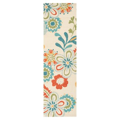 Leopold Putty Indoor/Outdoor Rug Rug Size: Runner 26 x 8