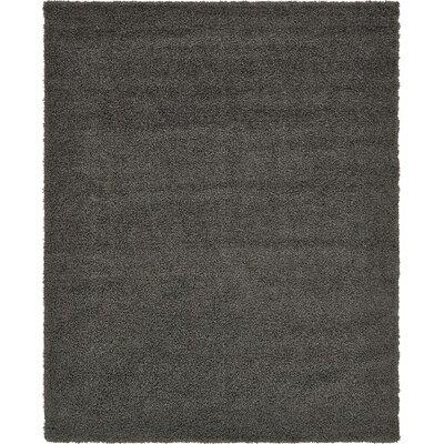 Lilah Dark Gray Area Rug Rug Size: 8 x 10