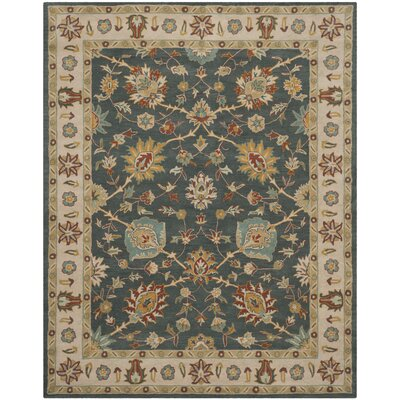 Albertine Dark Grey Area Rug Rug Size: 4 x 6