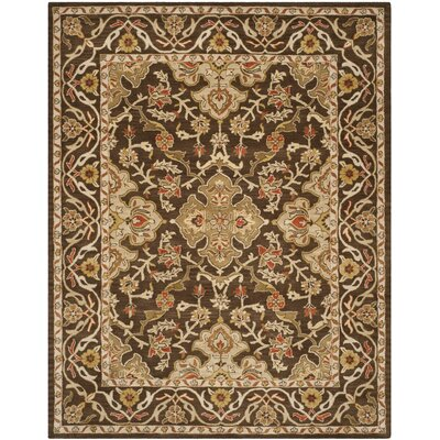 Albertine Brown Area Rug Rug Size: 8 x 10