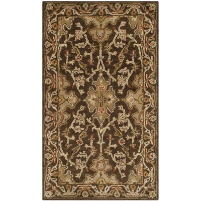 Albertine Brown Area Rug Rug Size: Rectangle 3 x 5