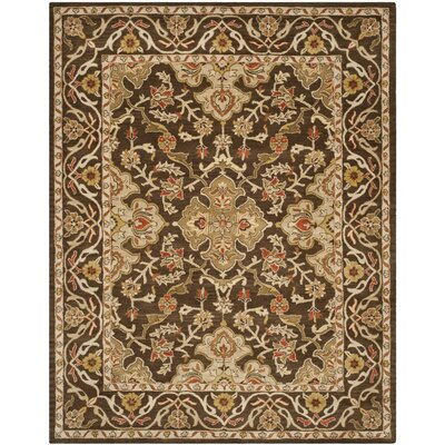 Albertine Brown Area Rug Rug Size: Rectangle 5 x 8