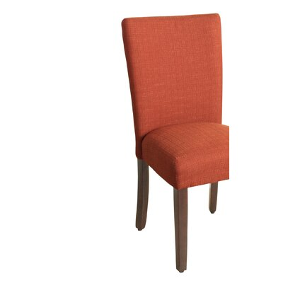 Rebersburg Parsons Chair Upholstery: Everly Cayenne