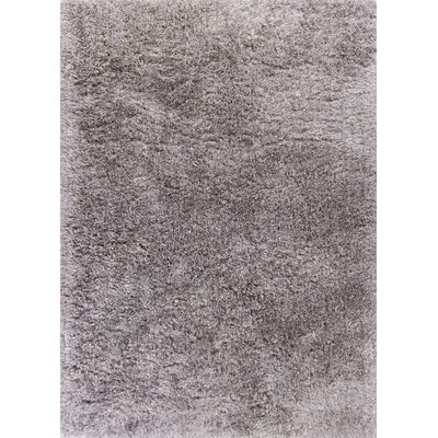 Angela Hand-Woven Platinum Area Rug Rug Size: Rectangle 5 x 7