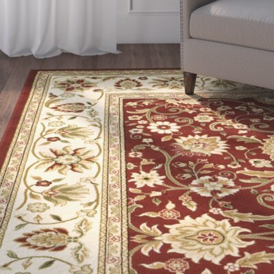 Southampton Red/Ivory Rug