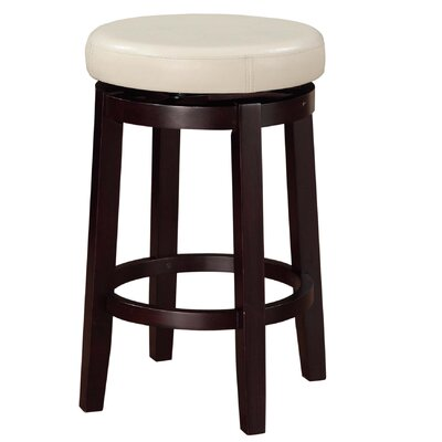 Colesberry 25.2 Swivel Bar Stool Upholstery: Rice