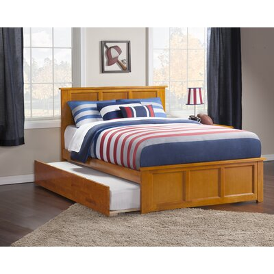 Marjorie Full Platform Bed with Trundle Finish: Caramel Latte
