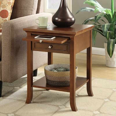American Heritage End Table Finish: Espresso