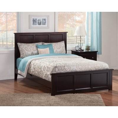 Marjorie Panel Bed Finish: Espresso, Size: Queen