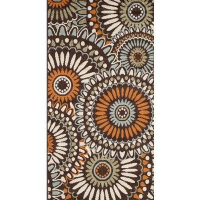 Chambers Beige/Green/Orange Indoor/Outdoor Area Rug