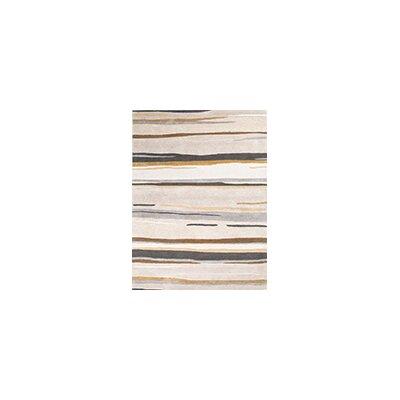Rothwell Grey Area Rug Rug Size: 5 x 8