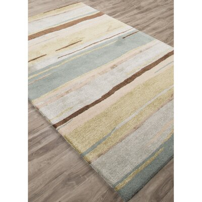 Rothwell Hand-Tufted Green/Blue Area Rug Rug Size: 2 x 3