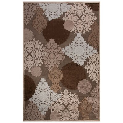 Rossford Gray Area Rug Rug Size: 2 x 3