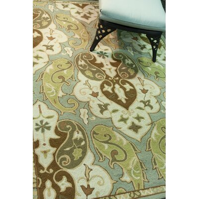 Breann Hoja Indoor/Outdoor Area Rug Rug Size: 76 x 96