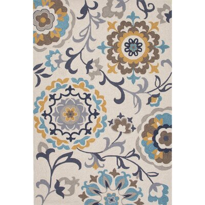 Sefton Polyester Hand Tufted Area Rug Rug Size: 5' x 7'6