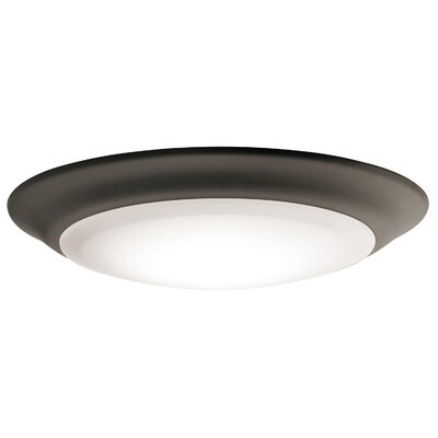 Curland 1-Light LED Flush Mount Finish: Olde Bronze