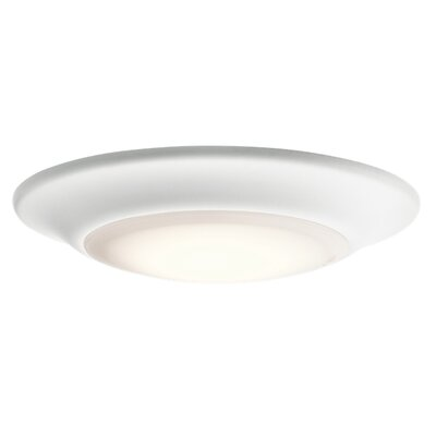 Frances 1-Light Flush Mount Finish: White