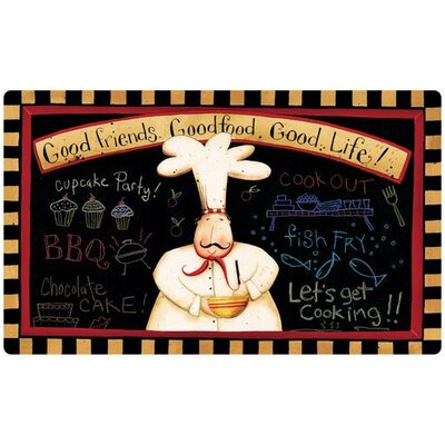 Dempsey Good Friends, Good Food Comfort Mat