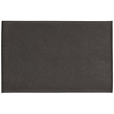 Sharee Footlover-Pebbleface Costa Utility Mat Color: Black