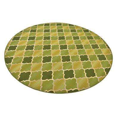 Detroit Green Indoor/Outdoor Area Rug Rug Size: 10 x 12