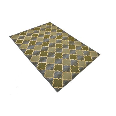 Alice Beige Indoor/ Outdoor Area Rug Rug Size: Rectangle 4 x 6