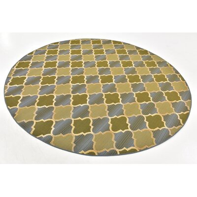 Alice Beige Indoor/ Outdoor Area Rug Rug Size: 4 x 6