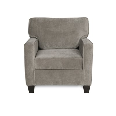 Doric Arm Chair Color: Fusion Platinum