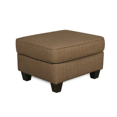Abbot Cocktail Ottoman Upholstery Color: Nutmeg