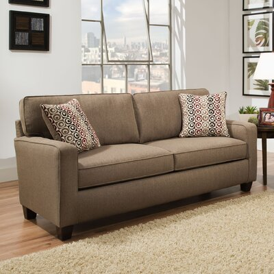 Abbot Sofa Upholstery Color: Nutmeg