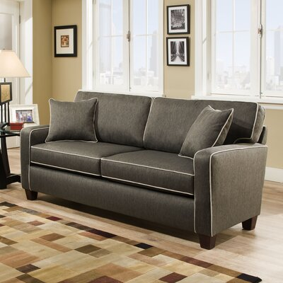 Abbot Sofa Upholstery Color: Charcoal